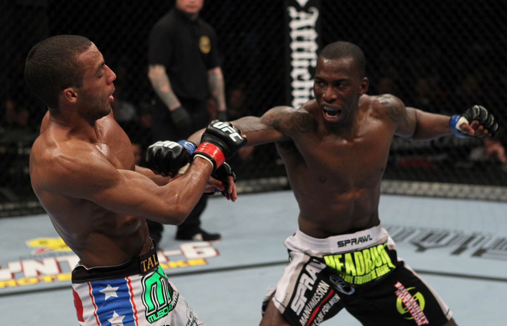 UFC 128: Barboza bs. Njokuani