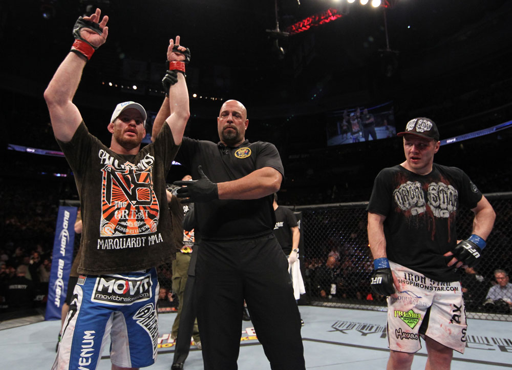 UFC 128: Winner Nate Marquardt