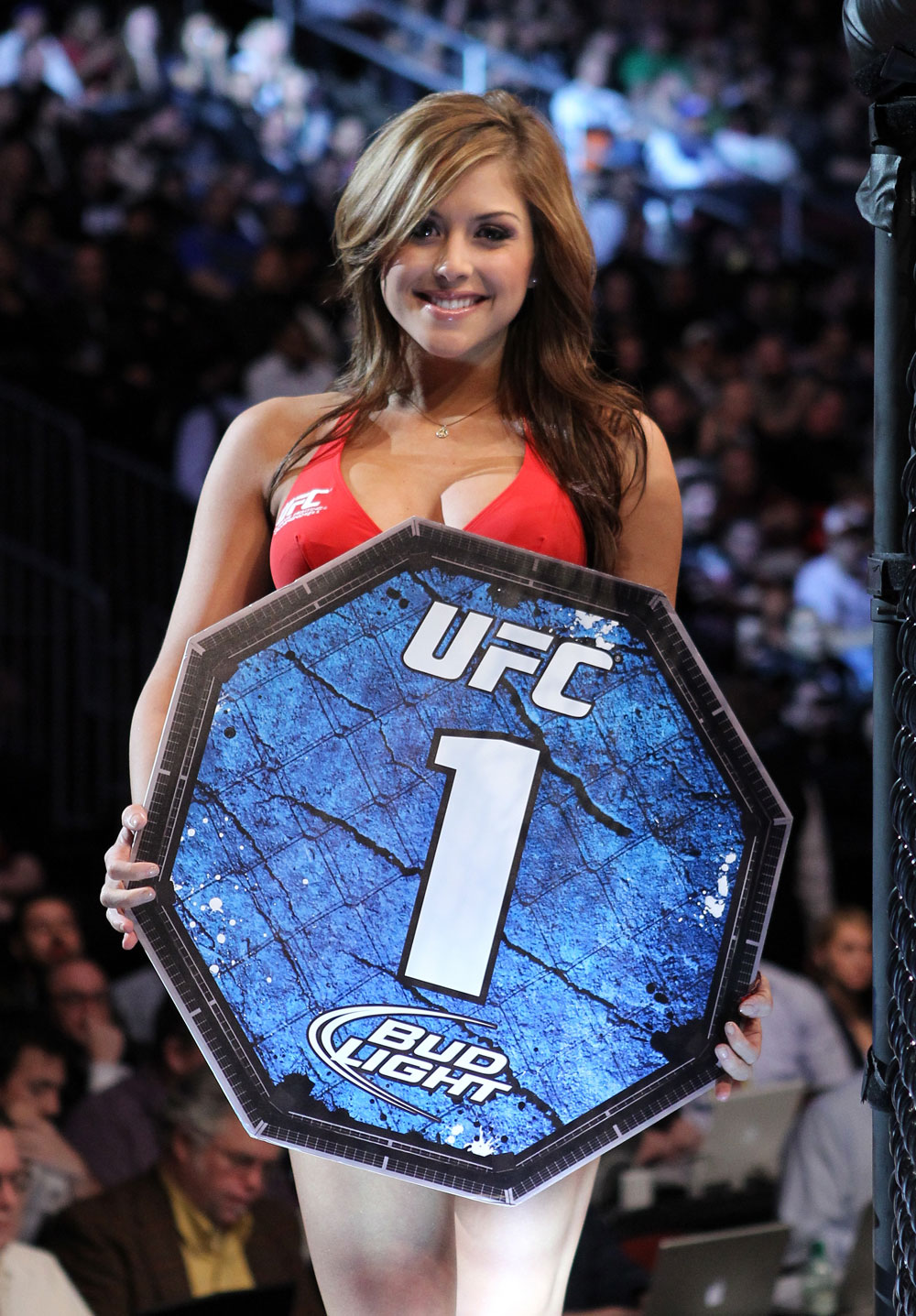 UFC 128: Octagon girl Brittney Palmer