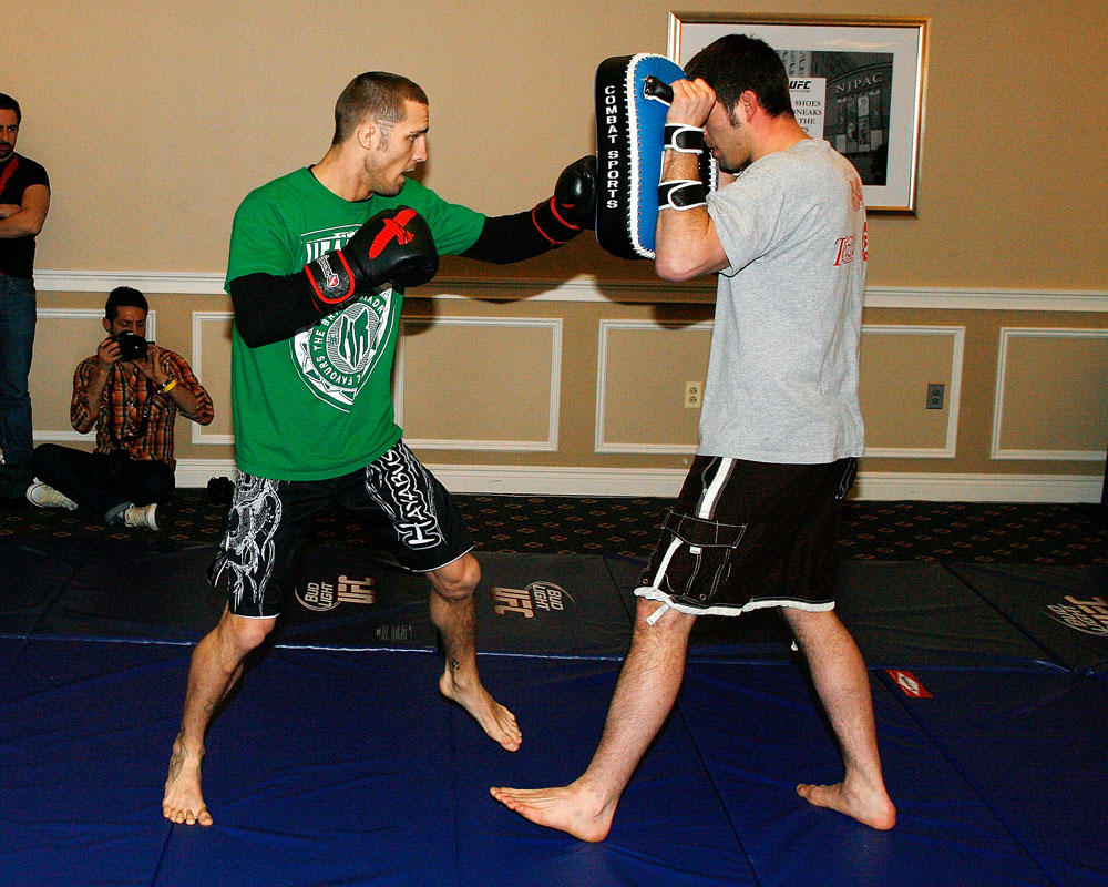 UFC 128 Open Workouts: Eddie Wineland