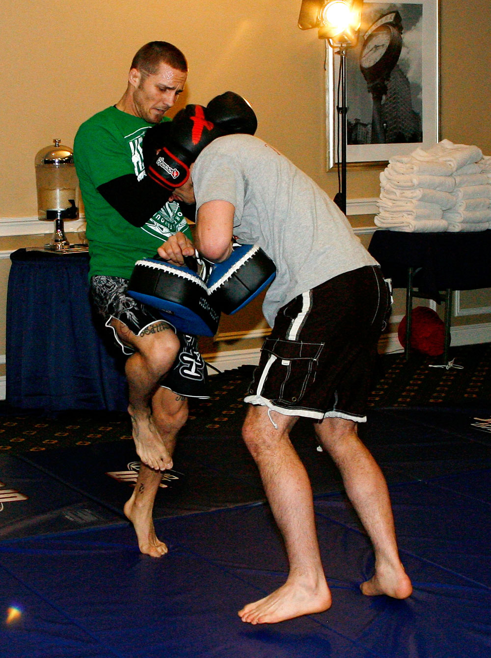 UFC 128 Open Workouts:Eddie Wineland