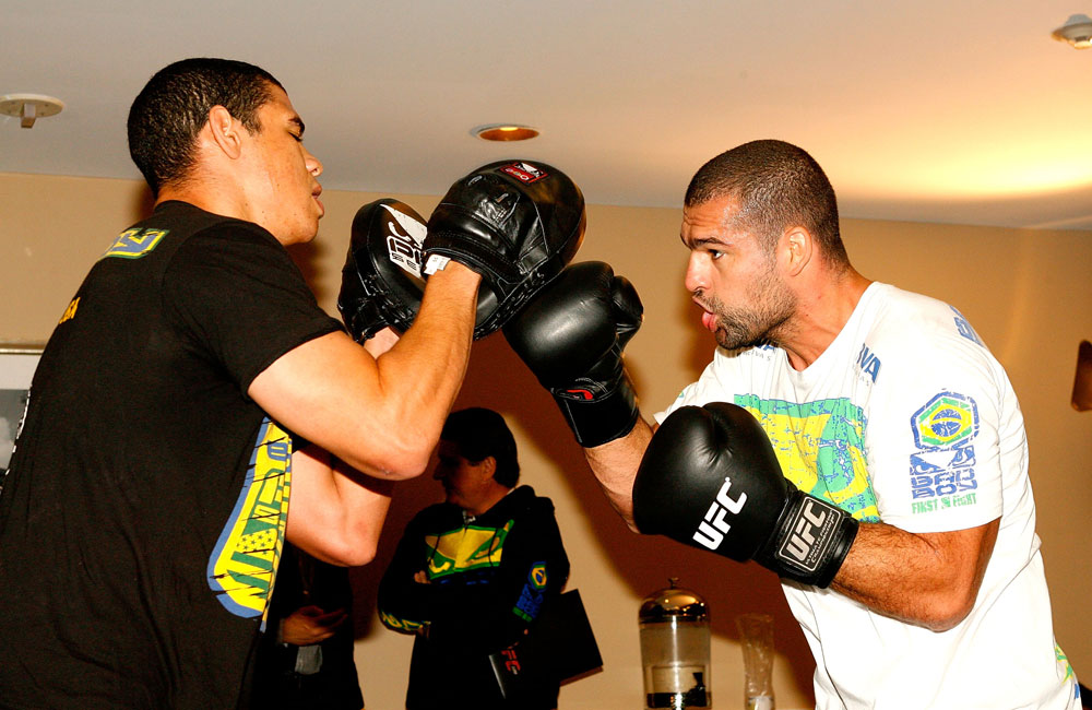 UFC 128 Open Workouts:Shogun Rua