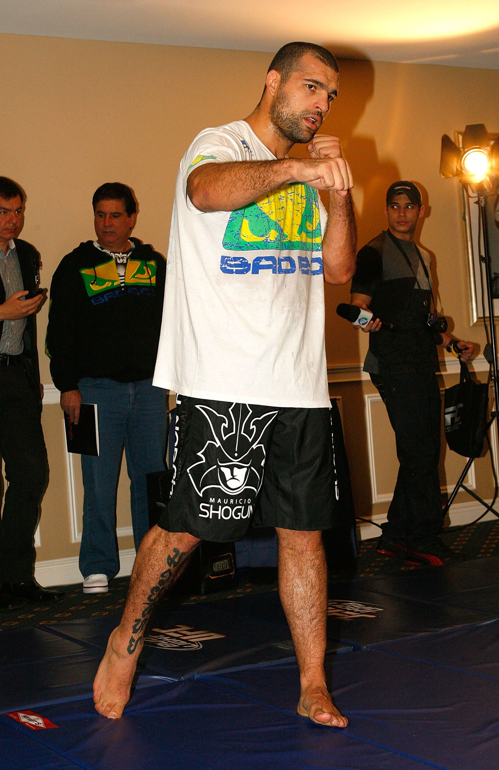 UFC 128 Open Workouts: Shogun Rua