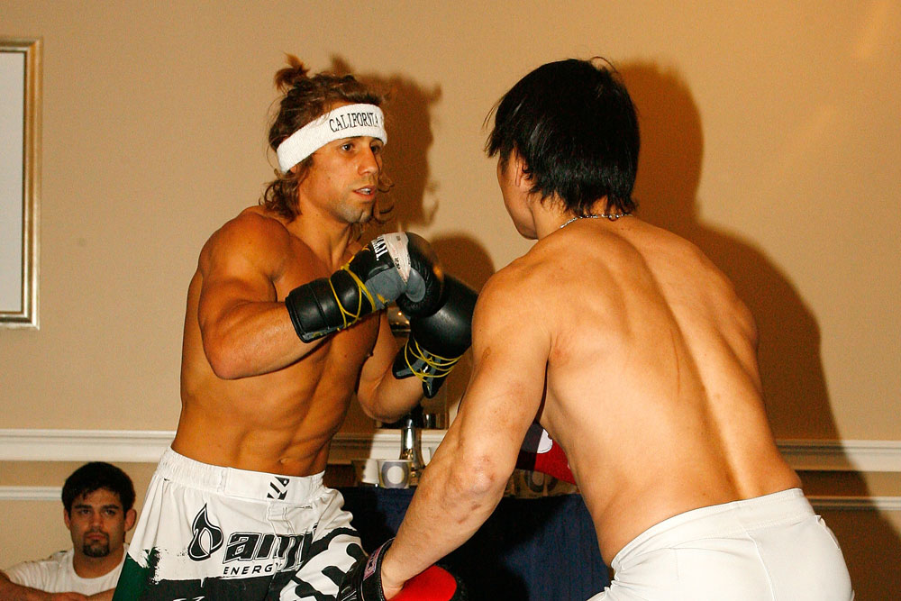 UFC 128 Open Workouts: Urijah Faber
