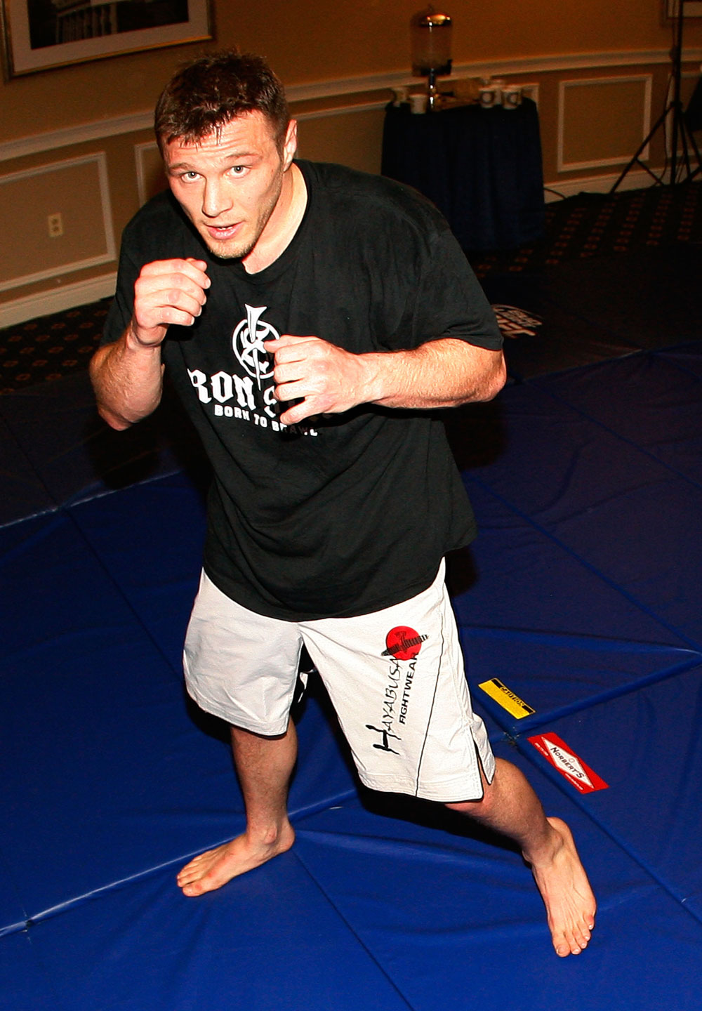 UFC 128 Open Workouts: Dan Miller