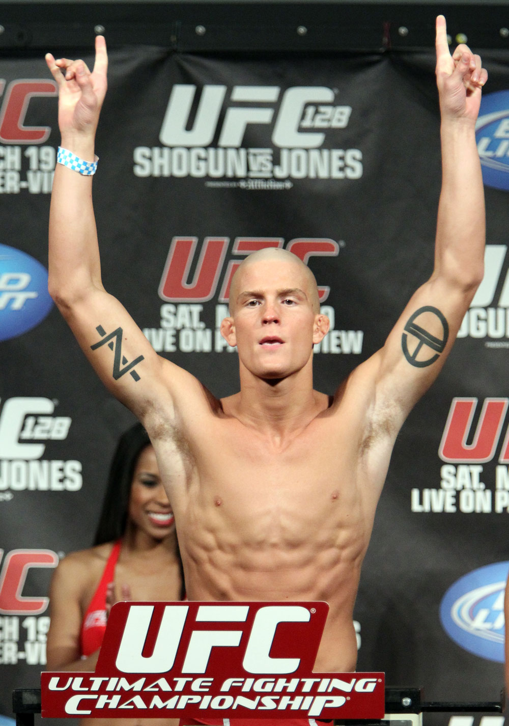 UFC 128 Weigh-ins: Erik Koch