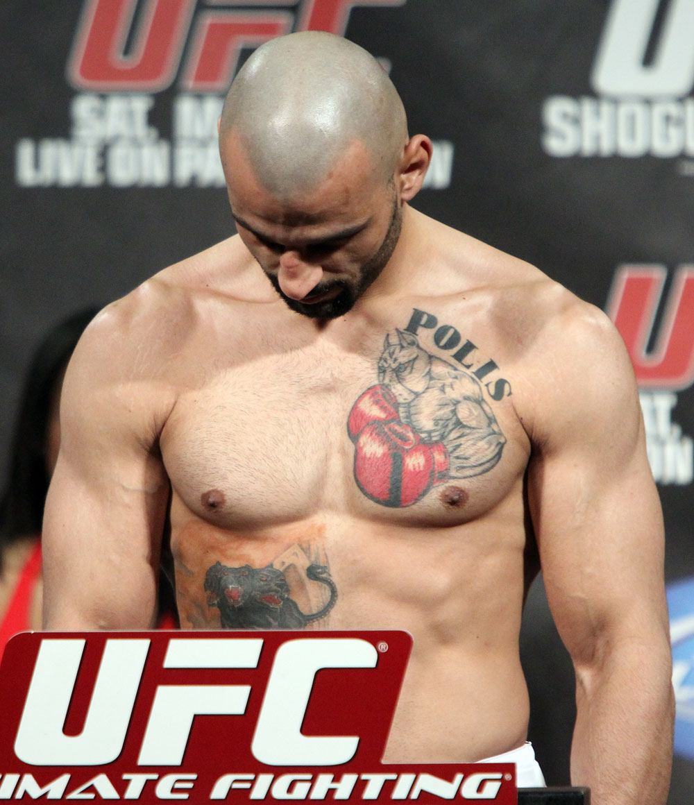 UFC 128 Weigh-ins: Constantinos Philippou