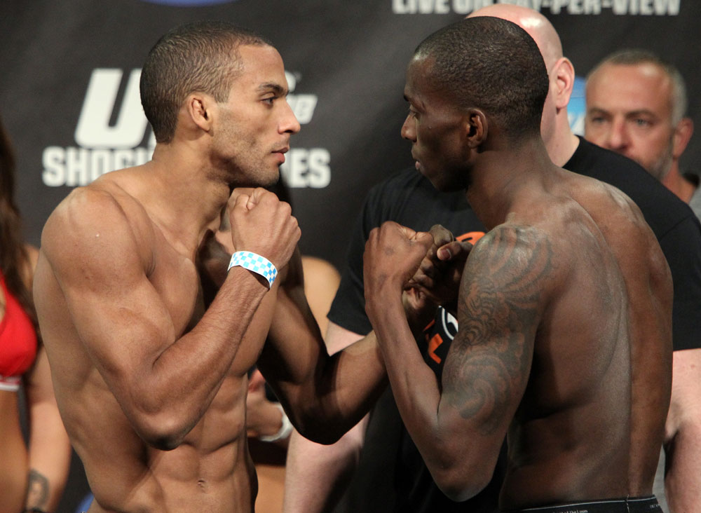 UFC 128 Weigh-ins: Barboza vs. Njokuani