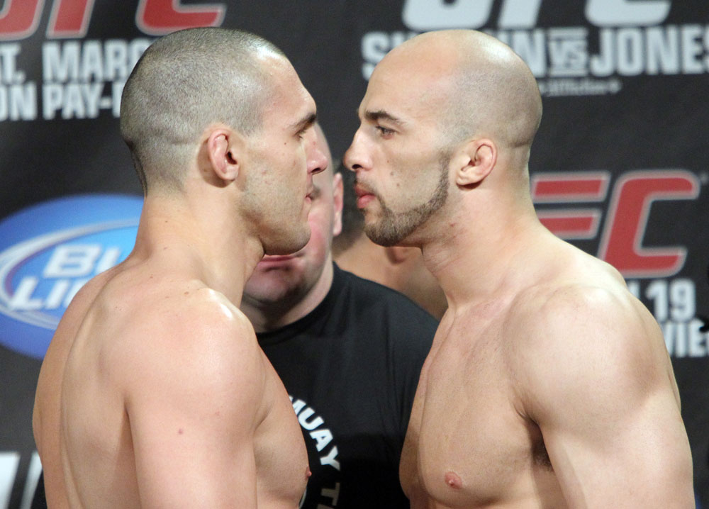 UFC 128 Weigh-ins: Cane vs. Marshall