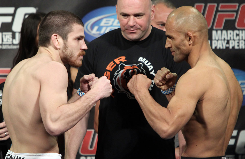 UFC 128 Weigh-ins: J. Miller vs. Shalorus