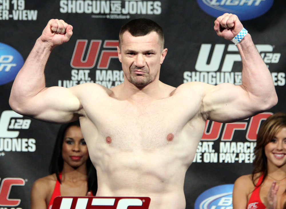 UFC 128 Weigh-ins: Mirko Cro Cop