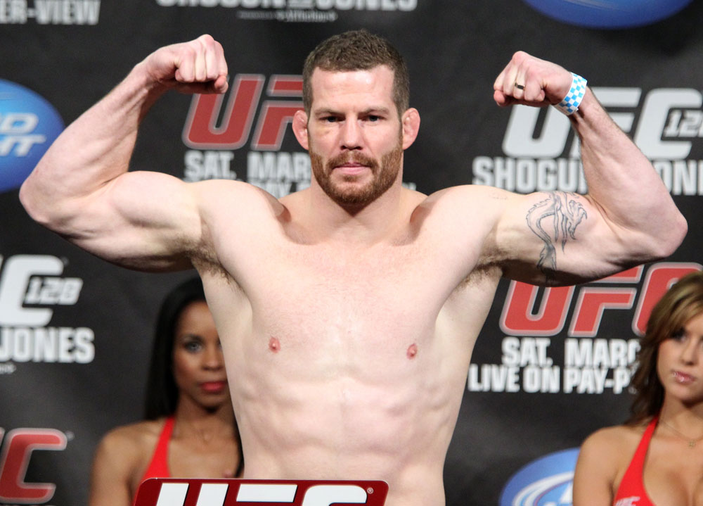 UFC 128 Weigh-ins: Nate Marquardt