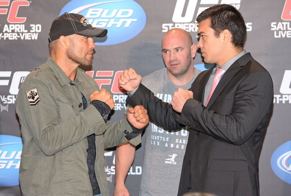 Randy Couture, Lyoto Machida & Dana White