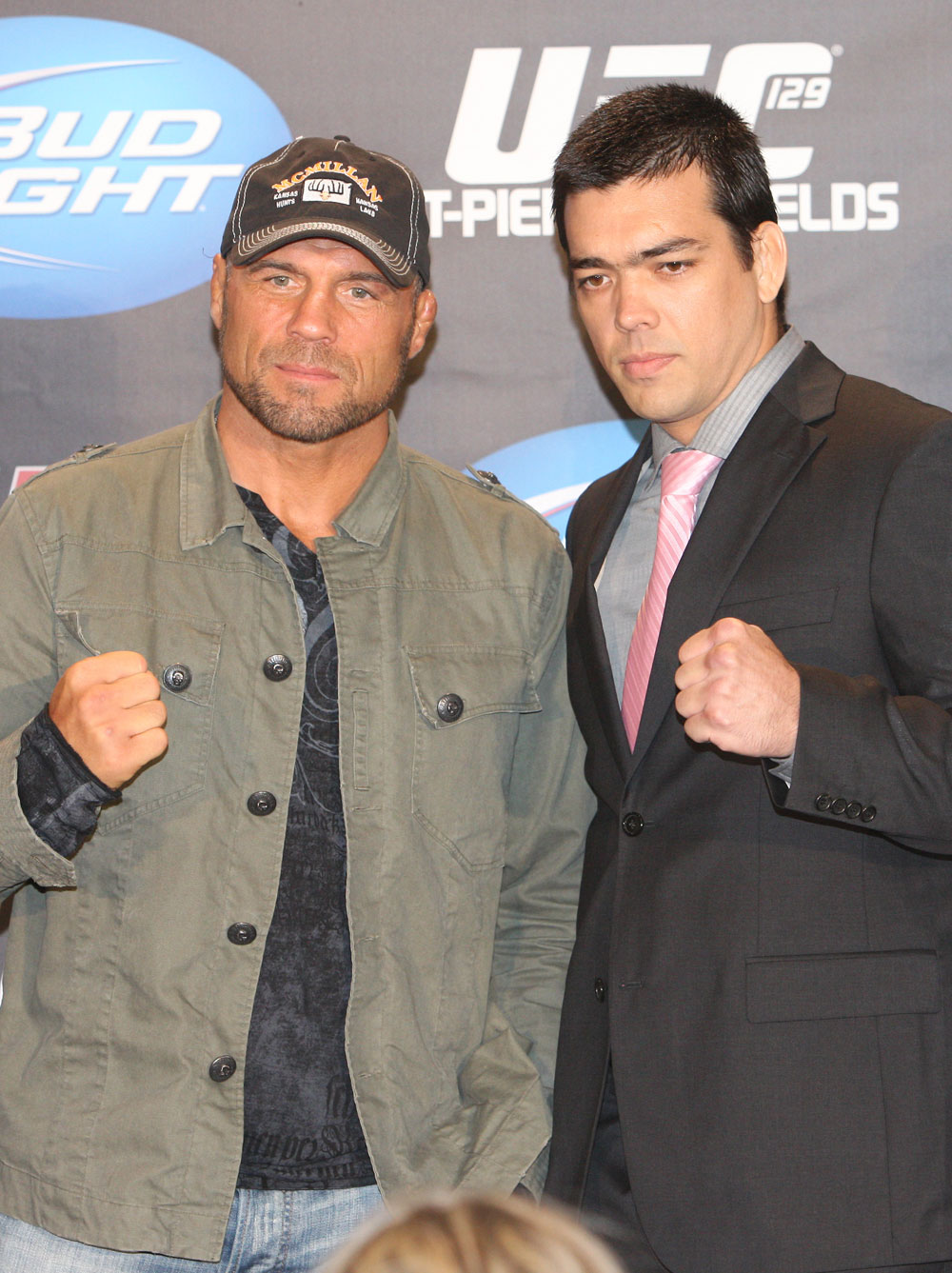 Randy Couture & Lyoto Machida