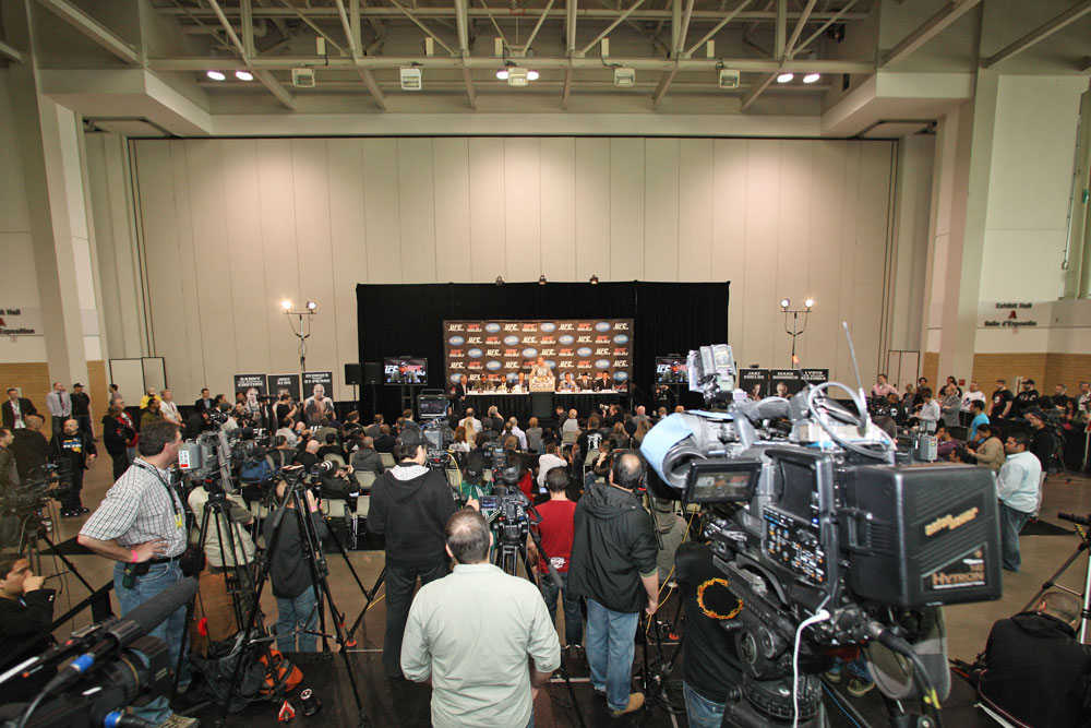 UFC 129 Press Conference
