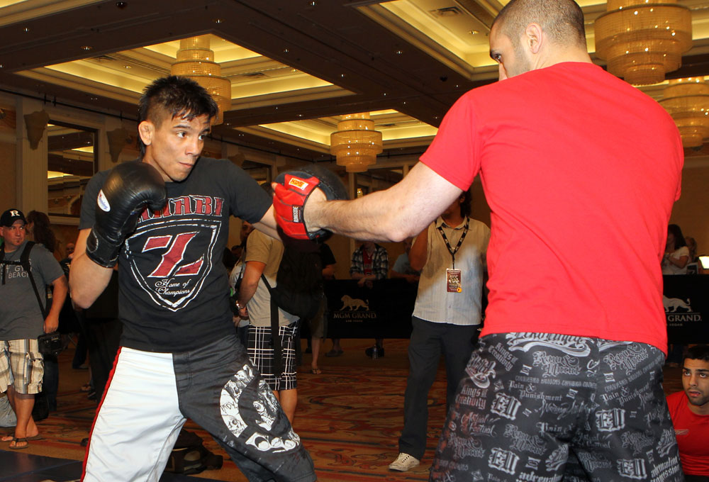 UFC 130 Open Workouts: Miguel Angel Torres