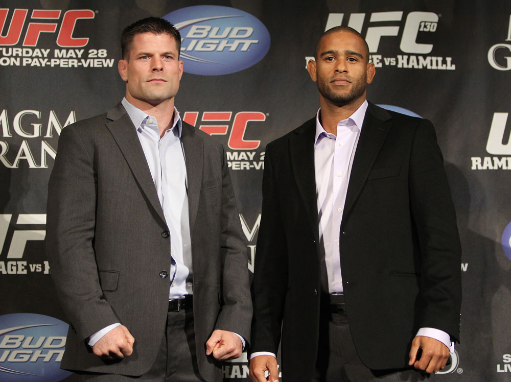 UFC 130 Press Conference: Stann vs. Santiago