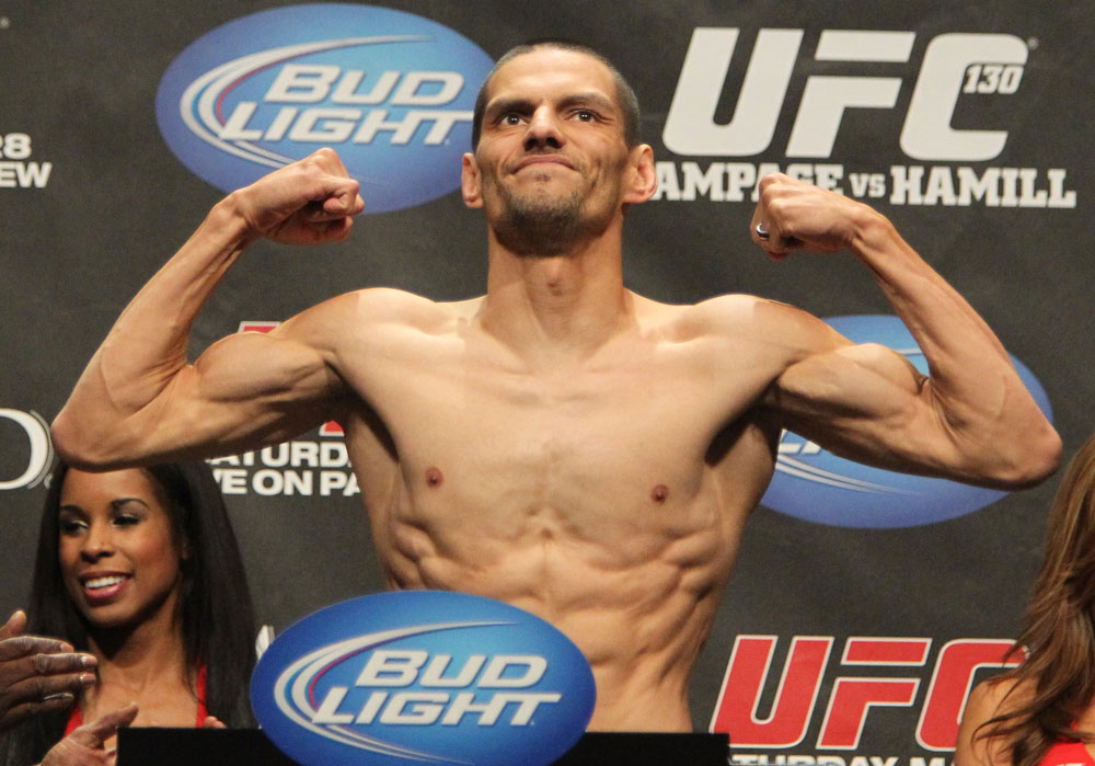 UFC 130 Weigh-ins: Cole Escovedo