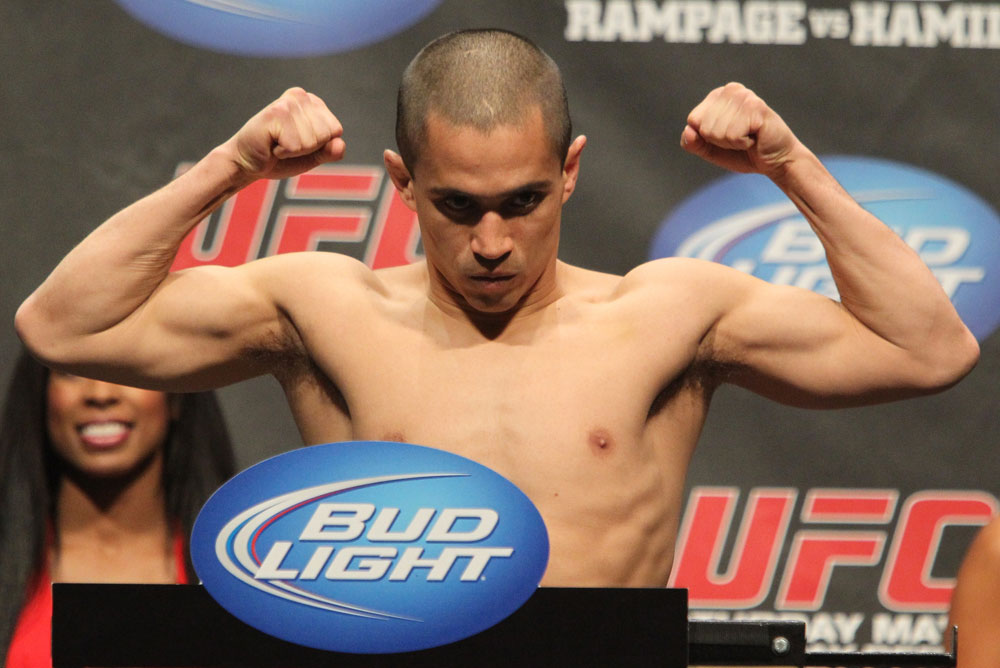 UFC 130 Weigh-ins: Chris Cariaso
