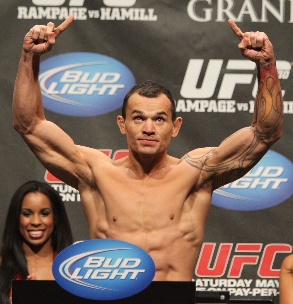 UFC 130 Weigh-ins: Gleison Tibau