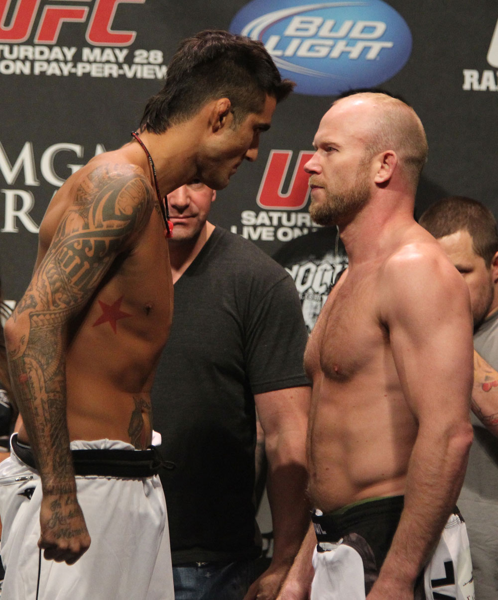 UFC 130 Weigh-ins: Kendall Grove vs. Tim Boetsch