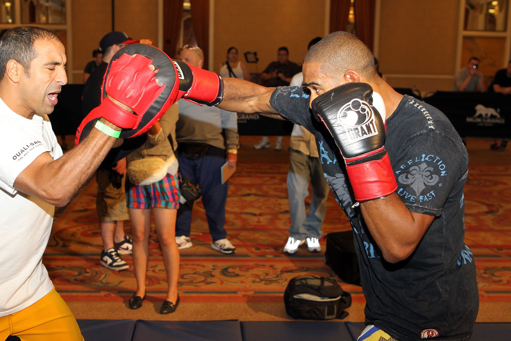 UFC 130 Open Workouts: Jorge Santiago