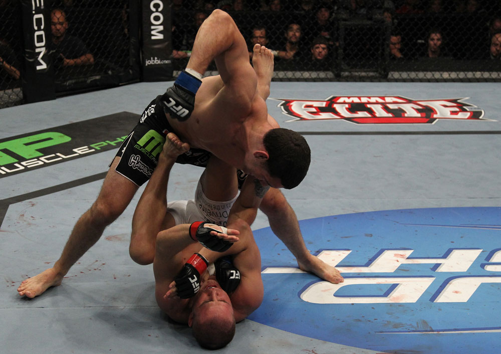 Chris Weidman vs Jesse Bongfeldt