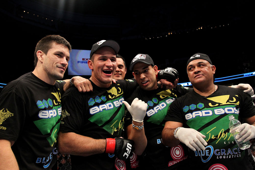 Junior dos Santos, Demian Maia & Team