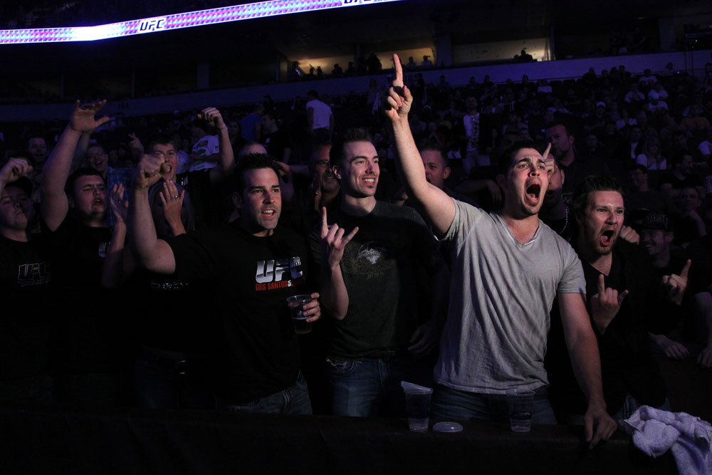 UFC 131 Crowd