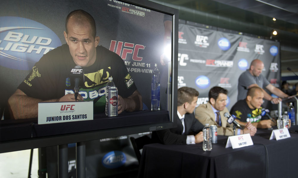 Junior dos Santos, Kenny Florian &amp; Sam Stout