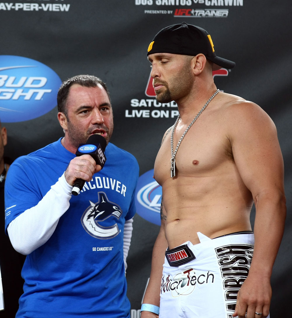 Shane Carwin & Joe Rogan