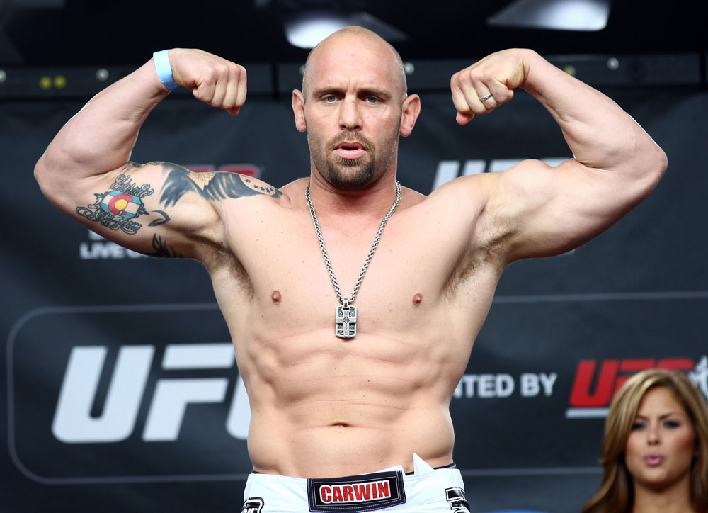 The Ultimate Fighter 16 coach Shane Carwin