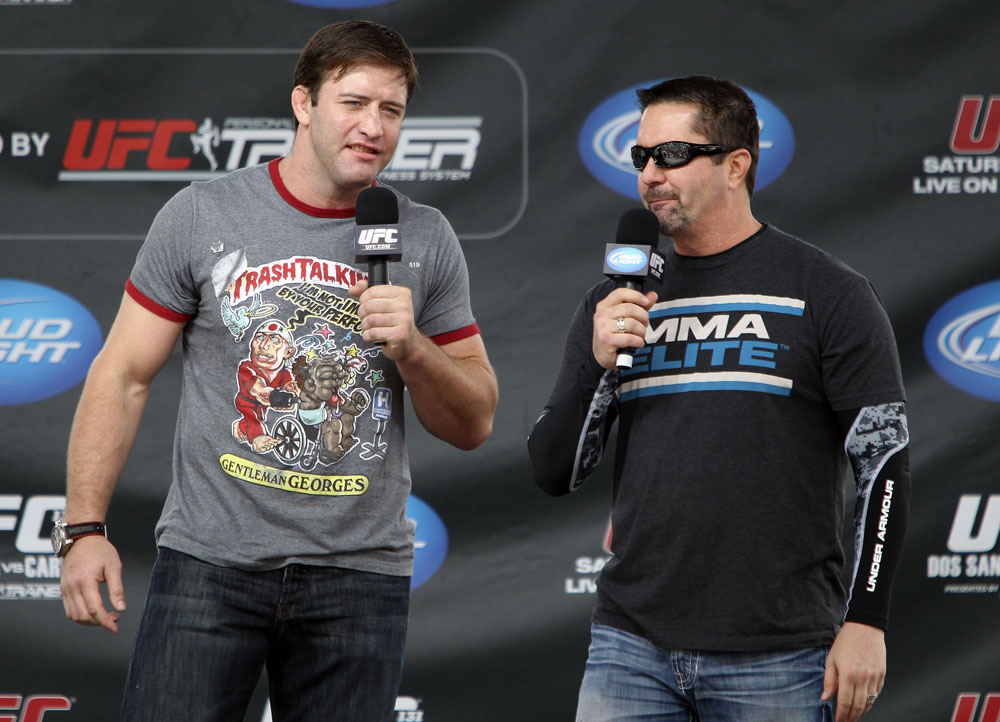 Stephan Bonnar & Mike Goldberg