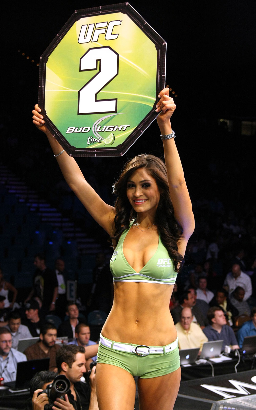 UFC Octagon Girl Lindsey Wey.