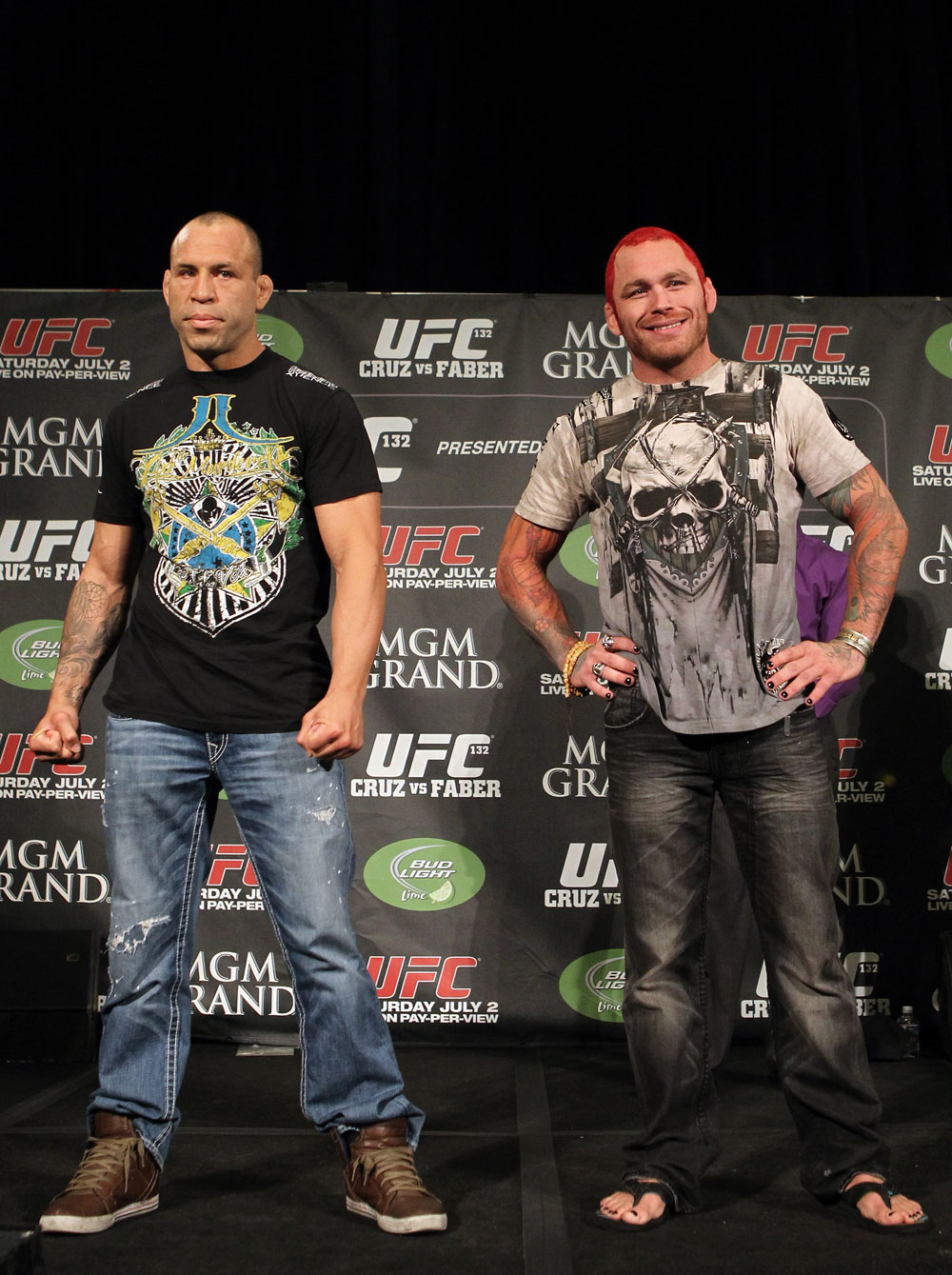 UFC 132 Pre-fight Press Conference: Wanderlei Silva vs. Chris Leben