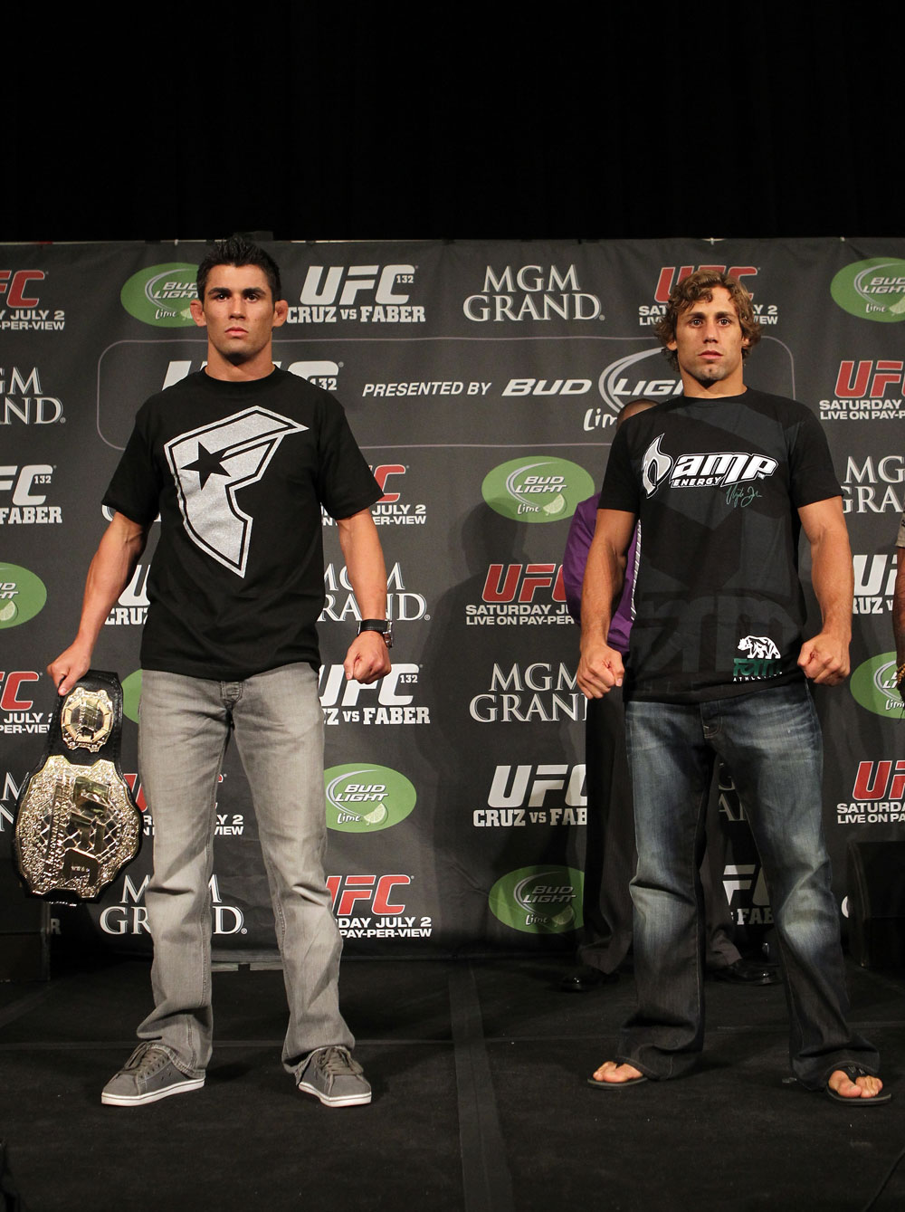 UFC 132 Pre-fight Press Conference: Dominick Cruz vs. Urijah Faber