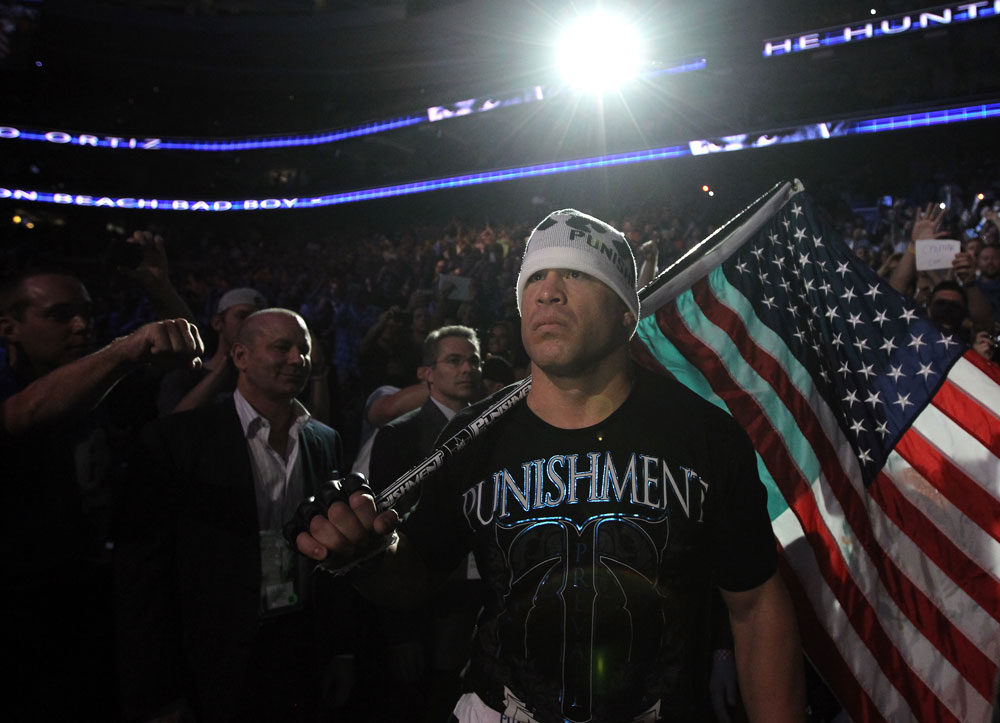 UFC 133: Tito Ortiz enters the arena