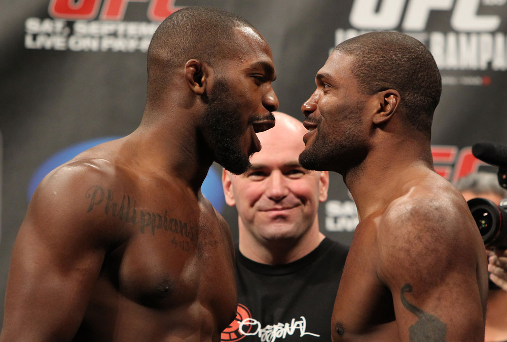 Jon Jones vs Rampage Jackson