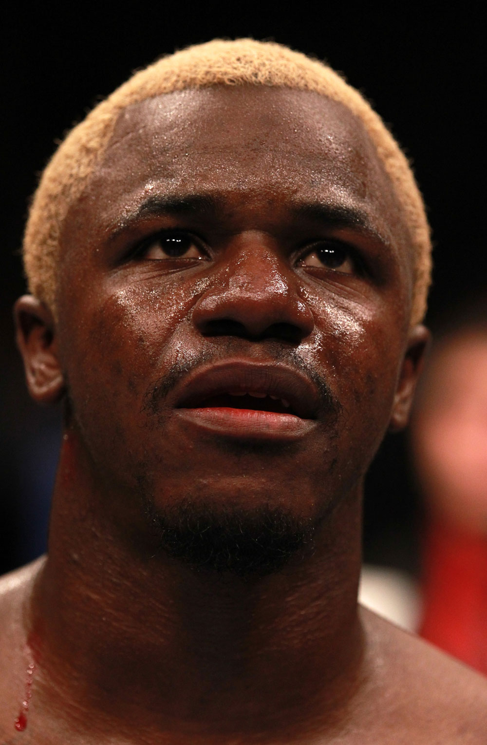 Melvin Guillard after his loss to Joe Lauzon