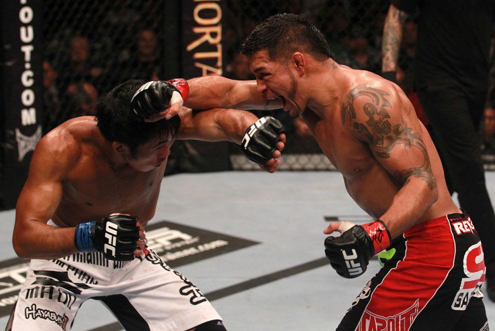 UFC featherweight Leonard Garcia