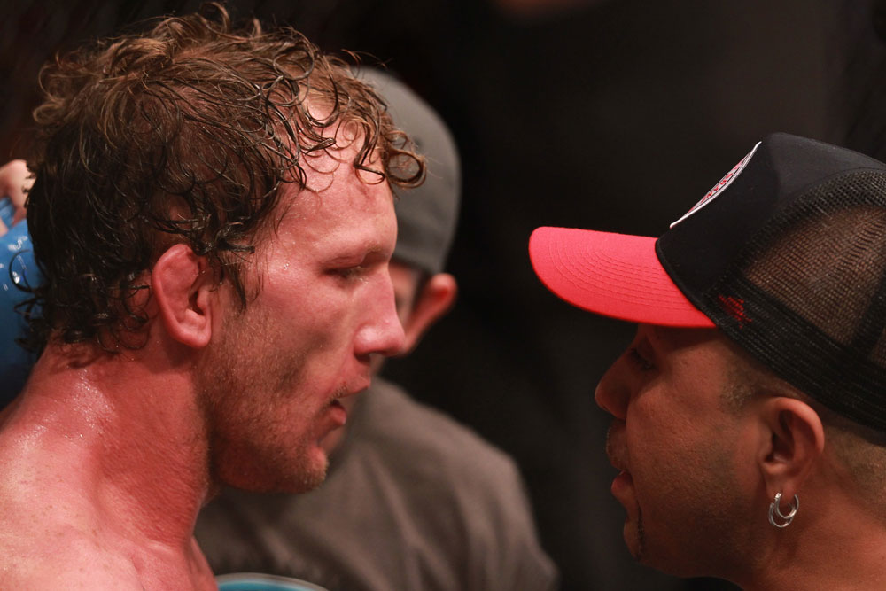 Gray Maynard after the fight