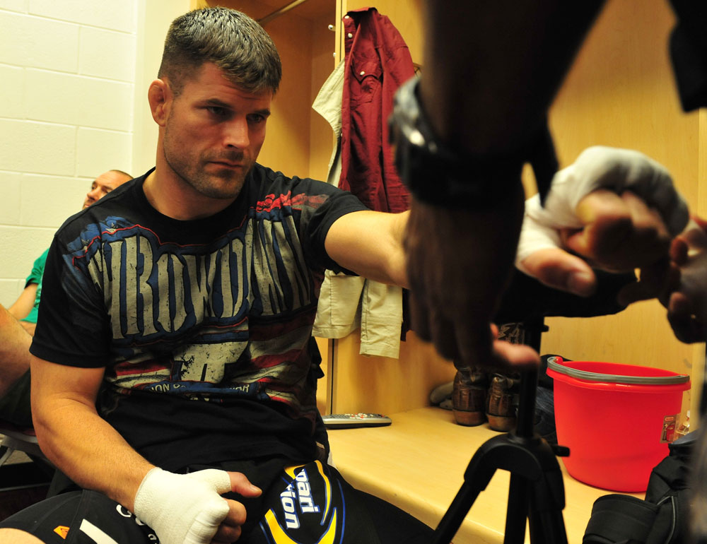 Brian Stann before his fight