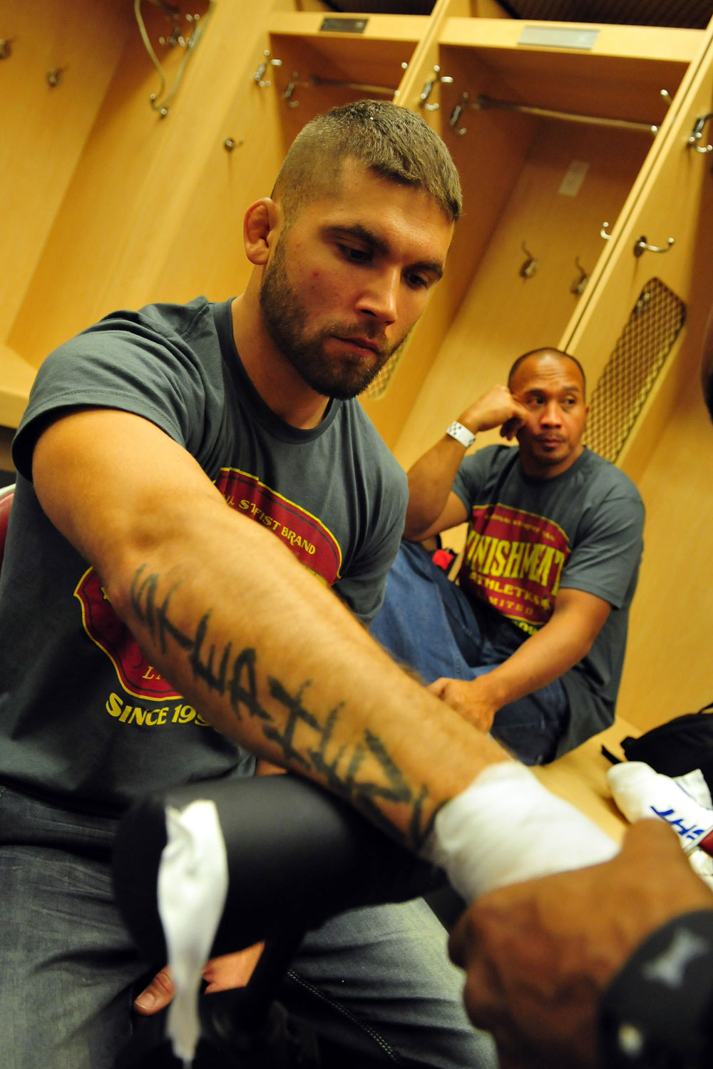 Jeremy Stephens before his fight with Anthony Pettis