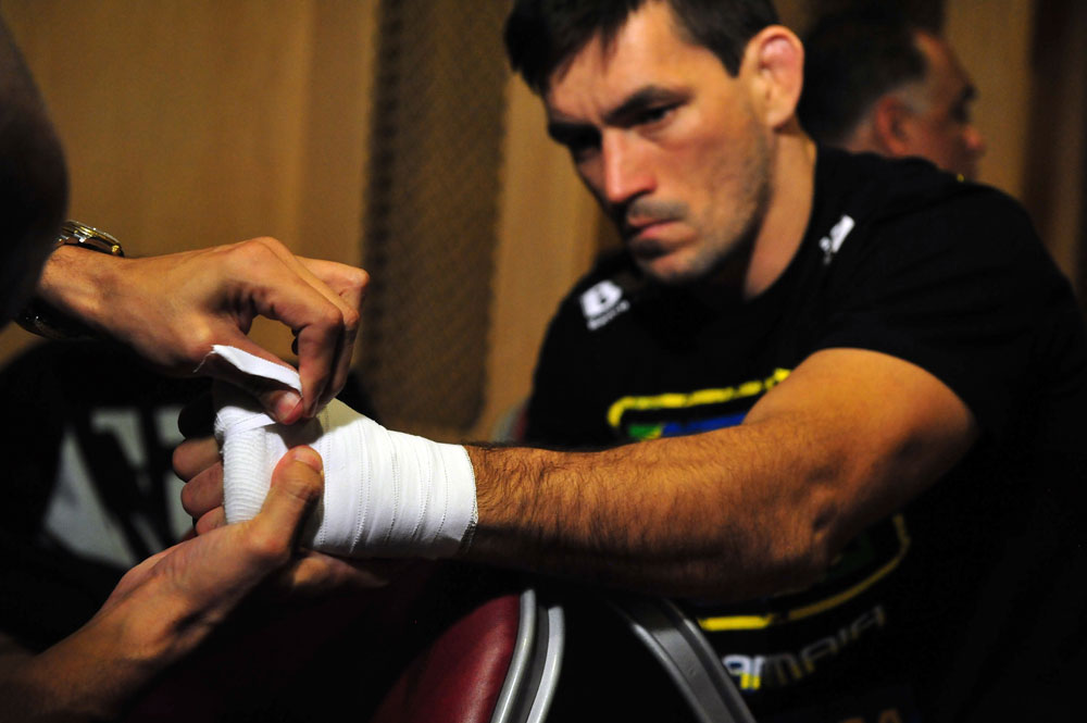 Demian Maia before his fight