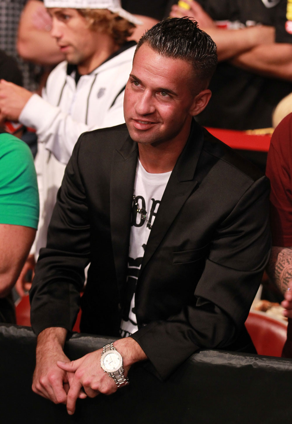 "TV Personality Mike ""The Situation"" Sorrentino attends the UFC 136 event"