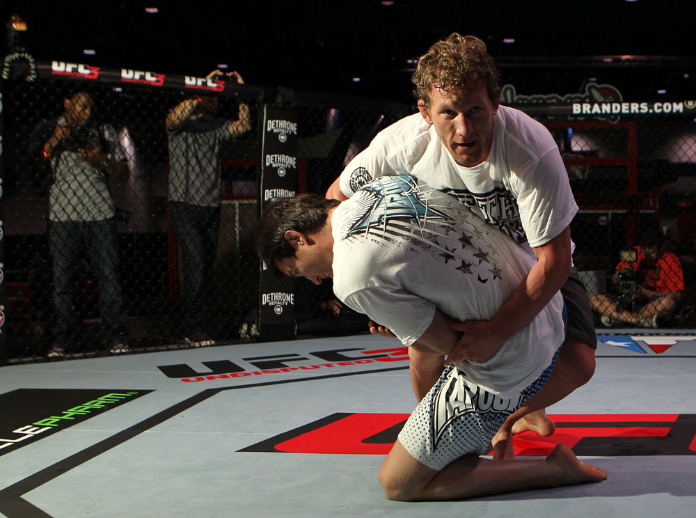 Gray Maynard and Chael Sonnen