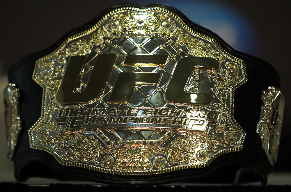 Ultimate Fighting Championship belt