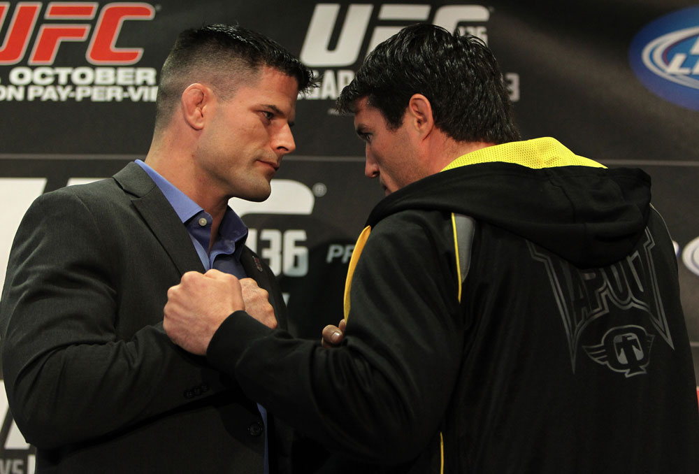 Brian Stann and Chael Sonnen face off