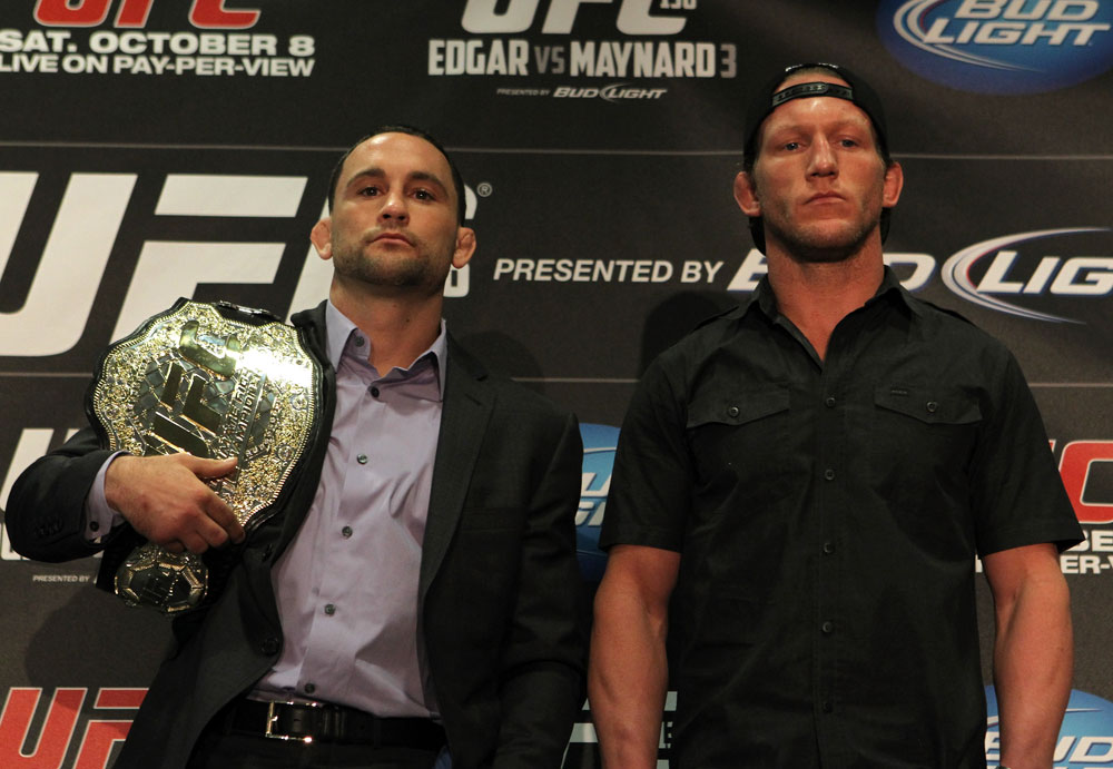 Frankie Edgar and Gray Maynard