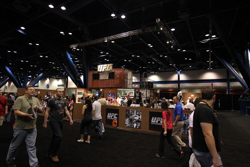 UFC Booth at the Fan Expo
